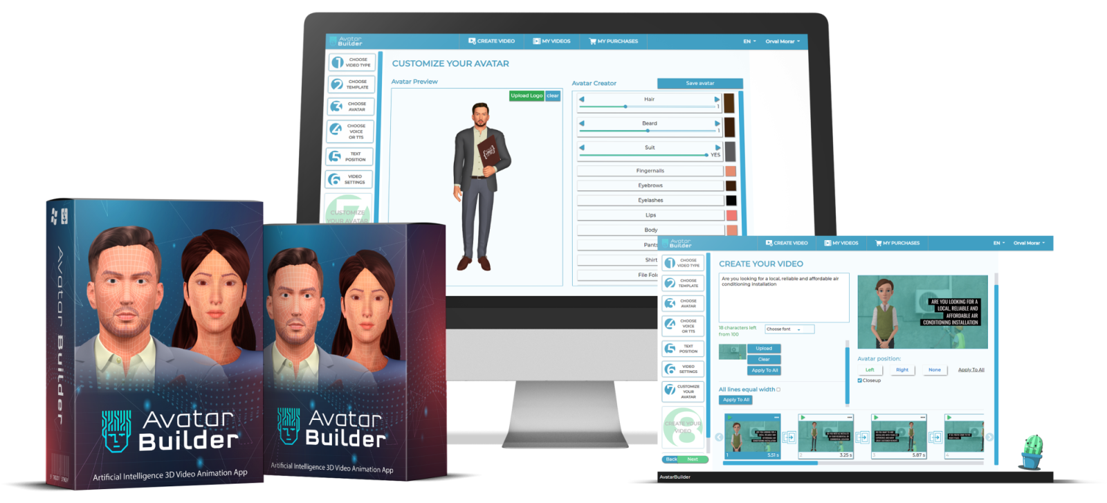 AvatarBuilder Review – World's First Visual 3D Avatar Builder